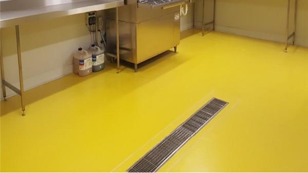聚氨酯砂浆地坪-适合食品行业地面的高性能材料【上海客聪】