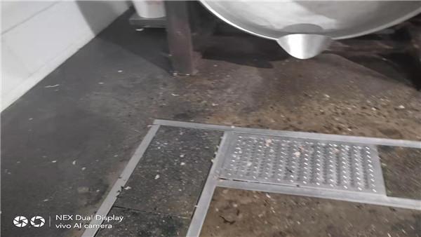 江苏某食品食品车间聚氨酯砂浆地面案例