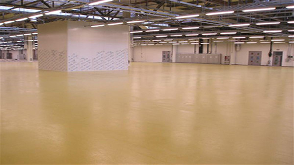 西卡聚氨酯砂浆地坪施工现场的材料贮存