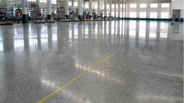 山东特光发电厂客聪帝耐丽密封固化剂地坪案例