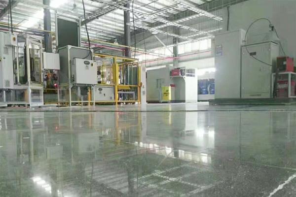 密封固化剂地坪应用范围-化工车间