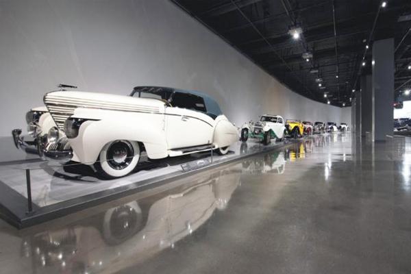 汽车展示中心钢化地坪