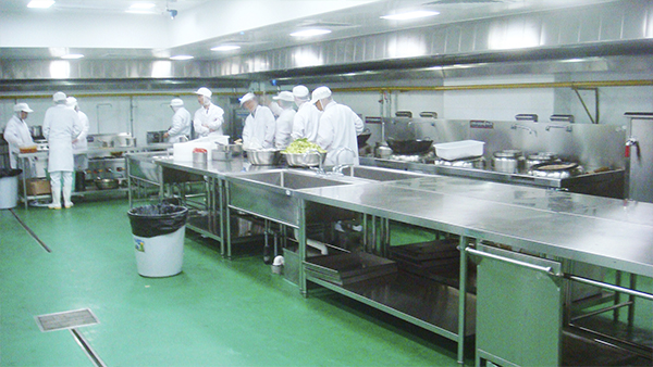 食品加工车间地面