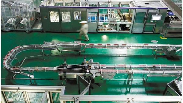 浙江明旺乳业生产车间客聪巴斯夫水性聚氨酯砂浆地坪案例