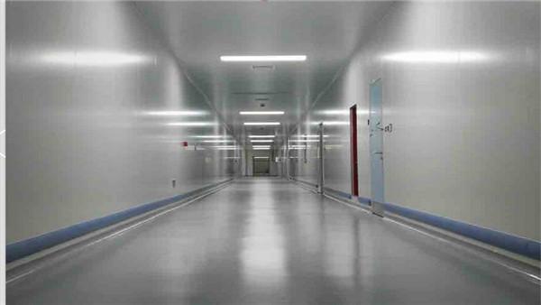齐鲁制药生物产业园西卡无溶剂环氧彩砂自流平案例