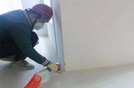墙角地面研磨处理