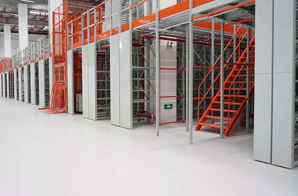 超耐磨聚氨酯地坪案例-机械制造车间