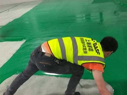 客聪聚氨酯砂浆地坪施工细节