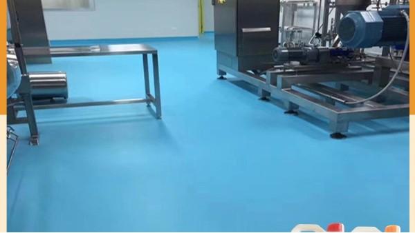 防滑水性聚氨酯砂浆地坪