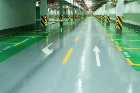 环氧砂浆地坪-地下停车场