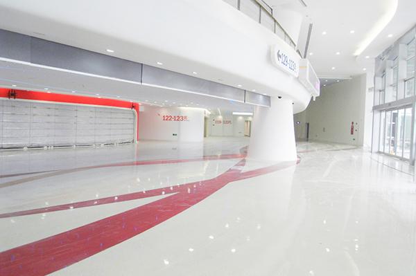 环氧彩砂地面-广州某产品中心