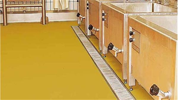 客聪巴斯夫水性聚氨酯砂浆地坪在车间中铺多厚合适?