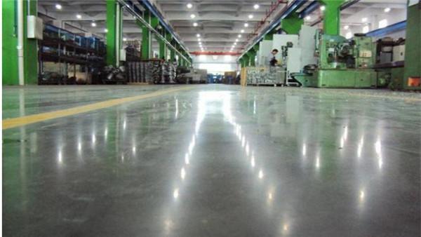 密封固化剂地坪是旧地面翻新的主力材料
