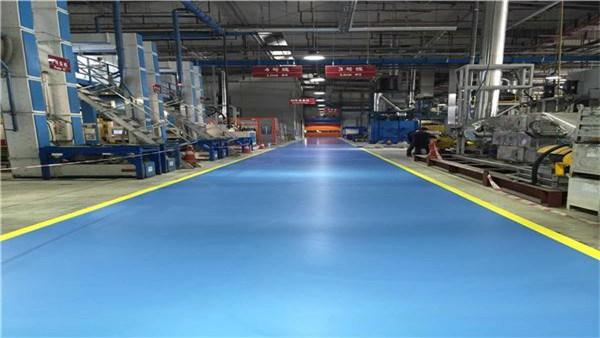 客聪巴斯夫超耐磨聚氨酯地坪打造高质量的耐磨效果