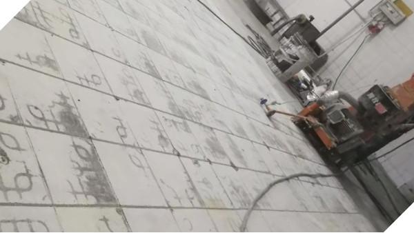 旧瓷砖地面