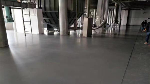 上海多米诺喷码客聪聚氨酯地坪案例