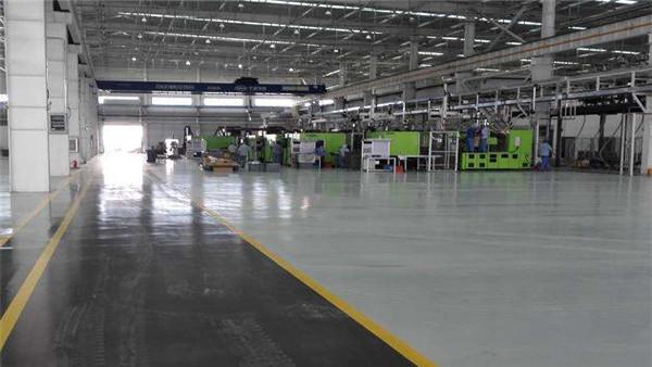 苏州博世汽车配件公司制造车间客聪巴斯夫超耐磨聚氨酯地坪案例